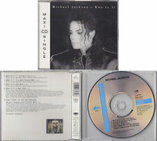 Michael Jackson WHO IS IT Maxi CD Single 1992