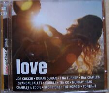 C20- TWOGETHER LOVE - 2 CD Cocker Durand Turner Ray Charles ....