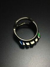 Tactical Ring With Hidden Bottle Opener Function with Tritium