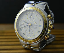 MEN'S RAYMOND WEIL PARSIFAL OVERSIZED 39mm VINTAGE CHRONOGRAPH WATCH UHR MONTRE