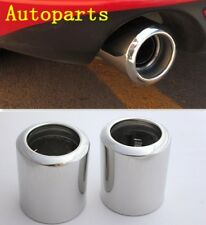 CHROME EXHAUST MUFFLER TAIL TIP PIPE For Mazda 6 2014 2015 2016