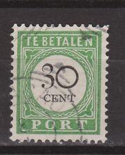 Port nr.18 type 1 gestempeld used Curacao Nederlandse Antillen due stamp