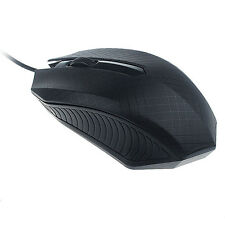 For PC Laptop 1200 DPI USB Wired Gaming Mice Mouse High Speed Optical Mouse UK