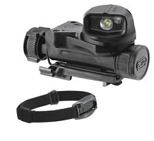 Petzl STRIX VL Tactical Military Head Torch MOLLE Flashlight Helmet Light Black