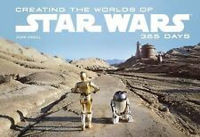 CREATING THE WORLDS OF STAR WARS - J. W. RINZLER JOHN KNOLL (HARDCOVER) NEW