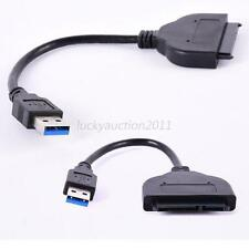 Useful USB 3.0 to External SATA 3Gbps 22 Pin Cable Adapter Connecter Hard Drive