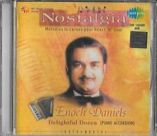 "NOSTALGIA - ""ENOCH DANIELS"" - DELIGHTFUL DOZEN -PIANO ACCORDION - BOLLYWOOD CD"