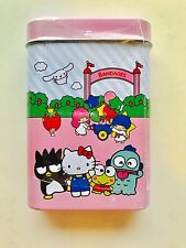 Sanrio Hello kitty My Melody Keroppi  50th Anniversary Band-aids Set With Tin