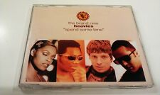 THE BRAND NEW HEAVIES SPEND SOME TIME - CD SINGLE 4 TRACKS
