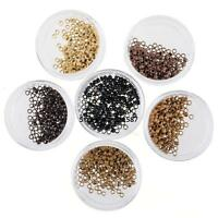 Nano Micro Rings / Beads For Use With Nano Hair Extensions Tools