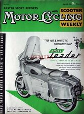 April 2 1959 ARIEL 'Leader 250cc' Motor Cycle ADVERT - Magazine Cover Print