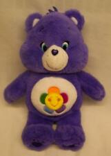 "Care Bears VERY SOFT PURPLE HARMONY BEAR 13"" Plush STUFFED ANIMAL Toy"