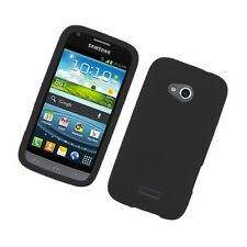 For Samsung Galaxy Victory 4G LTE Rubber SILICONE Soft Gel Skin Case Cover Black