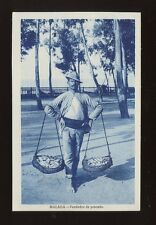 Spain MALAGA Vendedor de pescado Fish Seller c1920/30s? PPC