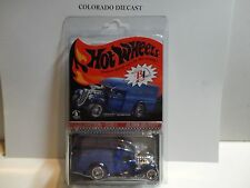 Hot Wheels Red Line Club Blue Selections Blown Delivery