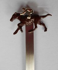 Smart Quality Horse & Jockey Bookmark  Brand New  Gift Boxed Hand Decorated