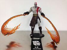 NECA God Of War Kratos With Flaming Blades Of Athena Action Figure 100% Complete