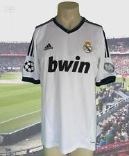 Real Madrid 2012-13 Champions League home shirt camiseta maillot adidas size L