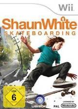 Nintendo Wii Shaun White skateboarding estrenar