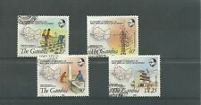 Gambia 1982 Economic Community SG480-83, fine cds used