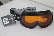 New 2016 Smith World Cup Ski Snowboard Goggles Black Gold Lite