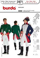 BURDA SEWING PATTERN MENS FANCY DRESS  jacket peplum Napoleon 36-48 2471