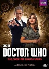 Doctor Who: The Complete Eighth Series (DVD, 2014, 5-Disc Set)
