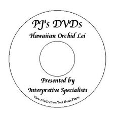 Origami Tissue Paper Hawaiian Orchid Lei Instructional DVD videos directions new
