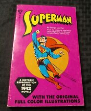 1979 SUPERMAN Novel by Lowther / Siegel / Shuster FN+ 218p Kassel Books