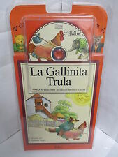 LA GALLINITA TRULA LIBRO Y AUDIO CD CUENTOS ESPANOL PARA NINOS ILUSTRADO