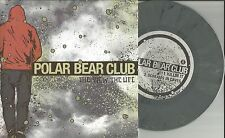 POLAR BEAR CLUB The View Live UNRELEASE GREY MARBLE ONLY 2000 Made 7 INCH Vinyl