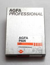 Agfa PAN 25 Nero-Bianco Film/una confezione di film piano 9x12 cm