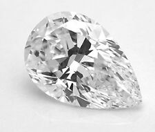 GIA Certificate 1.08ct Pear Shape Excellent Cut Diamond E Color SI1 Clarity Gift