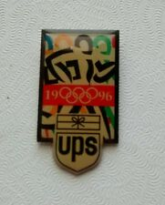 Collector 1996 UPS  United Parcel Service  Lapel Hat Pin Olympic Games Running