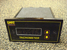 NEW! Dart DM8000 Field Programmable Digital Tachometer for rate & time, 120/240v
