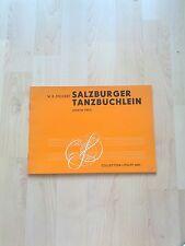 Noten Mozart Salzburger Tanzbüchlein für Klavier zu 2 Händen