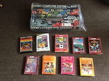 ATARI Woody 2600 58 GAMES Console Mint Joust, Action Pack Breakout Huge Lot NES