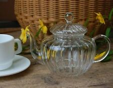 "DULTON Glass tea pot ""Pumpkin"" 600ml from Japan"