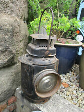 Non-Sweating Adlake Antique Railroad Lantern Lamp Carriage Vintage Old Railway