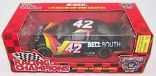 1998 Racing Champions 1:24 JOE NEMECHEK #42 BellSouth Chev Monte Carlo - Black