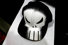 NEW W/TAGS-MARVEL COMICS THE PUNISHER GRAPHIC DESIGN BASEBALL CAP+ FREE dom.SHIP
