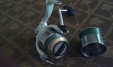 Excellent SHIMANO 2500FH Stradic Spinning Fishing Reel w/EXTRA/SPOOL BEAUTIFUL.