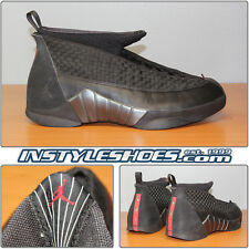 Nike Air Jordan XV 15 Sz 12 DS OG 2000 Black Stealth Varsity Red 136029-061