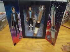 Doctor Who 11th Doctor Figure & Electronic Sonic Screwdriver Set VHTF!