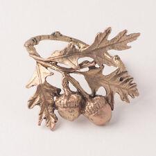Acorn Napkin Rings - Michael Michaud Table Art