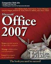 MS Office 2007 Bible (Soft Copy in PDF format)