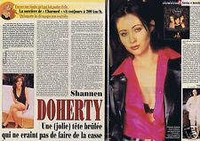 Coupure de presse Clipping 2001 Shannen Doherty  (2 pages)