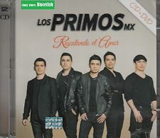 Los Primos Mx Rescatando el Amor CD+DVD New Nuevo sealed