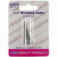 PME #0 Writer Tube Stainless Steel Icing Fondant Piping Decorating Nozzle Tip