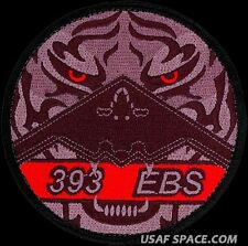 USAF 393rd EXPEDITIONARY BOMB SQUADRON – B-2 – TIGER - ORIGINAL VELCRO PATCH